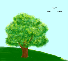 Tree (MS Paint) by TheR-tist