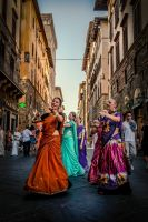 Gypsy Dancers by Findae