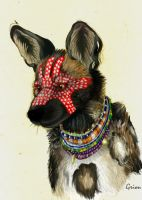Painted Dog d by Grion