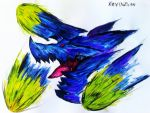 Brachydios Monster hunter 3 by kevinzhen