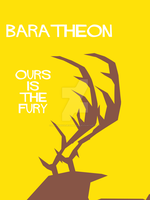 House Baratheon Minimalist Cutout by LeFinAbsolueDuMonde