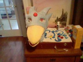 My golduck Nova Head Complete 3 by SpaceRanger108