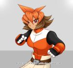 RMZXA - Undaunted Fighter by yukito-chan