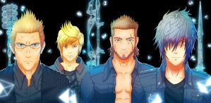 Final Fantasy XV by russo9999