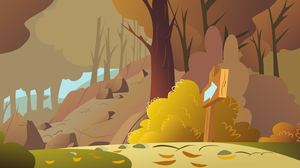 Rocky Autumn Hill by Foxy-Noxy