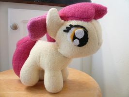 Filly Applebloom Plushie - Other Side by pyrmappege