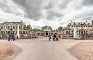 Zwinger Palace in Dresden HDR by DeejayMD