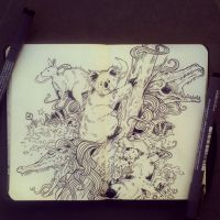 #35 Australia by 365-DaysOfDoodles