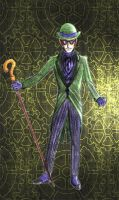 The Riddler Steampunk redesign by Nox-dl