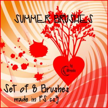 Summer Brushes PS by Coby17