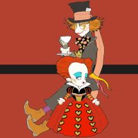 Alice in Wonderland by matsutakedo