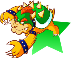 King of the Koopas, Bowser by JamesmanTheRegenold