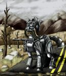 Fallout Equestria: Steel Ranger by StormCrow-42