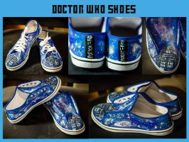 Tardis Shoes :D by Saki-Kisu