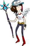 Adventure Time style me (dressed CN style) by idleambition