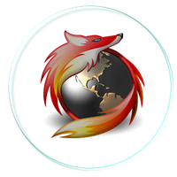 Firefox Dark Glass by 0dd0ne