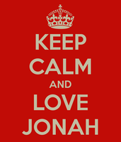 kEEP CALM AND LOVE JONAH by kaybabe300