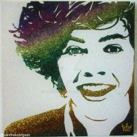 Harry Styles glitter 2 by ludvigsen
