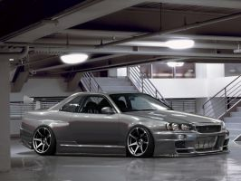 SKyline R34 - Project Shine by ATC-Design