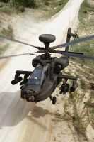The AH-64 Apache by jamestayloranime