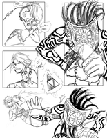 Twilight Princess Doujinshi Practice pg 3 sketch by SiscoCentral1915
