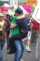 policemen hugs somebody by creativeIntoxication