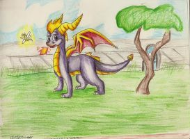 Original Spyro by floravola