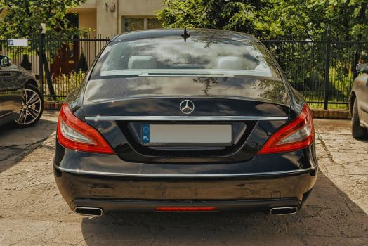 Mercedes-Benz W218 CLS back by Abrimaal