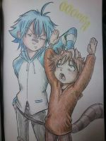 Mordecai y Rigby (Regular Show) by PsicoDelicia