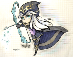 Ashe (League of Legends) by P-ana