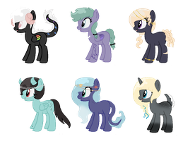 Song Inspired Pony Adopts CLOSED (Cheap) 3 by acervine