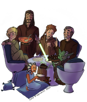 Star Wars Day: Fave Jedi Lineage by Teq-Uila