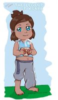Baby Korra by gianjos
