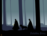 Harry Potter Forbidden Forest by evisel