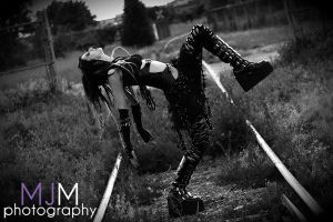 Industrial Dread Shoot 02 by MeetMeAtTheLake2Nite