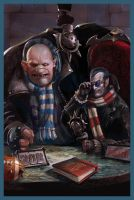Alt-cover for Blood Bowl issue 1 by DavidSondered
