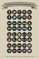 Free-Hand-Stitch-Social-Media-Icons-Set by youcef2