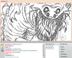 iScribble Monster by WerewolfUlrich