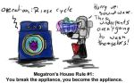Megatron's House Rules - 1 by Comics-in-Disguise