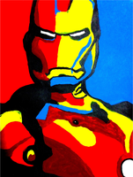 Iron Man (Pop Art) by invencibleJP