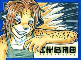 Anthrocon 2004 Badge by cybre
