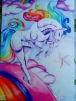 Robot Unicorn by turanneth