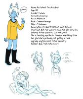 Ari the Apathetic Andorian Bio by taconaco