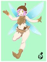 Brown Forest Fairy by skyraptor
