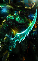 Illidan Stormrage by keitoAK