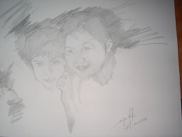 nash and sharlene sketch by eugeneforever2003