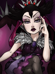 Raven Queen, Envoy of the Rebels by thelivingmachine02