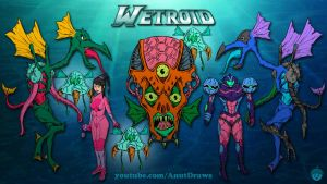 Wetroid by AnutDraws