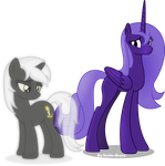 Lacunae and Psalm (Project Horizons) by Vector-Brony