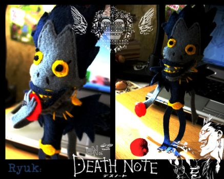 Ryuk doll -Death Note by Monochrome-Clown